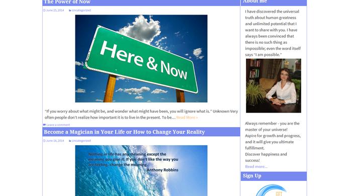 WordPress Blog custom development