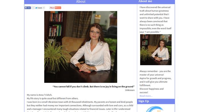 WordPress Blog design development