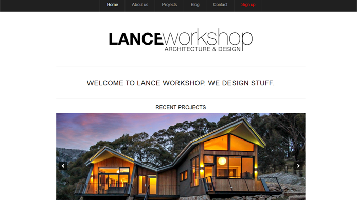 Wordpress construction website