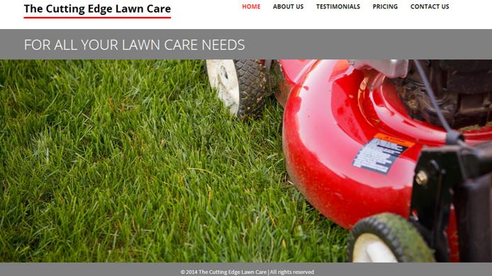Wordpress custom lawn care website design development expert company