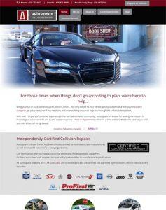 Auto Repair Business Website