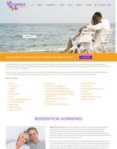 WooCommerce Medical Website